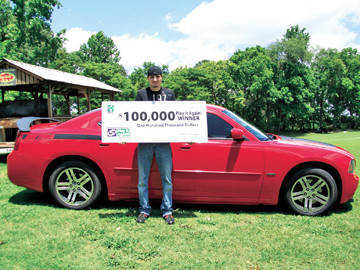 Local News: Unionville resident wins $100,000 in Tennessee Lottery