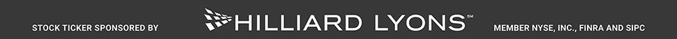 Stock Ticker Sponsored by Hilliard Lyons