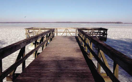 Local News: Reelfoot Lake has 'closed her eyes' (1/5/18