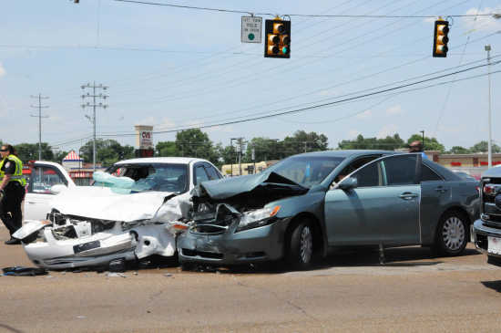Local News: Three injured in afternoon accident in Dyersburg (6/8/18